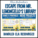 """Escape from Mr. Lemoncello's Library"" Movie & Party Pack Bundle"