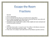"""Escape the Room"": Add Fractions"