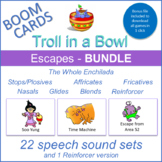 """Escapes"" THE WHOLE ENCHILADA Boom Cards Bundle (Troll in a Bowl)"