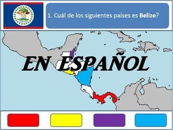 [Español] Powerpoint Game: Central American Geography