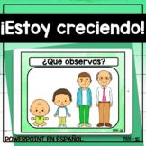 ¡Estoy creciendo! Spanish PowerPoint