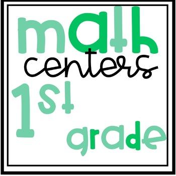 ~Eureka Math Centers~1st Grade (Module 1)