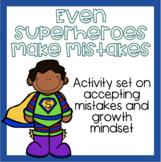 """Even Superheroes Make Mistakes"" Book companion set on acc"