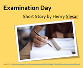 """""""Examination Day"""" Short Story Reading Comprehension & Questions"""