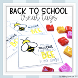 Bee Back to School, Testing, and End of Year Gift Treat Tags