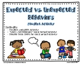 """Expected vs. Unexpected Behaviors"" Student Activity"