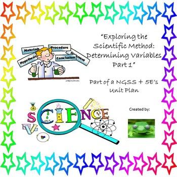 Exploring The Scientific Method:  Determining Variables Part 1