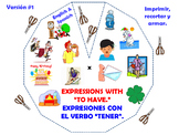 """""""Expressions with the verb """"to Be"""" in English."""