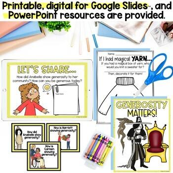 """Extra Yarn"" by Mac Burnett Companion Lesson and Craftivity!"