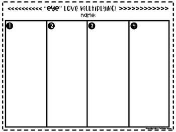 """""""Eye"""" Love MATH - Halloween Math Game"""