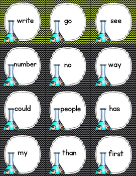 """""""Eye"""" Spy--A Sight Word Game  (Fry First and Second One Hundred)"""
