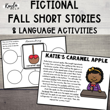 {FALL} Fictional Stories: Comprehensive Language Pack