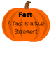 // FALL THEMED // --- Fact vs Opinion