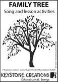 'FAMILY TREE' ~ (Grades K-4) ~ Song & Lesson Materials l D