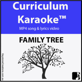 'FAMILY TREE' ~ MP4 Curriculum Karaoke™ READ, SING & LEARN