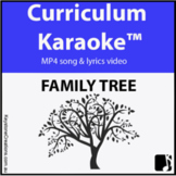 'FAMILY TREE' ~ MP4 Curriculum Karaoke™ READ, SING & LEARN