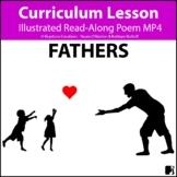 'FATHERS' (Grades Pre-K - 6) ~ Read-Along Poem Video l Dis