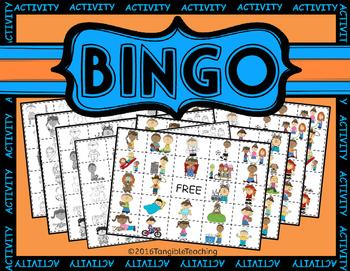 Activity Bingo!