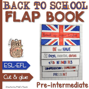 FLAPBOOK ✀ Brush up your English for pre-intermediate - Back to school