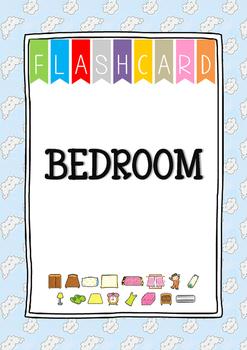 {FLASH CARDS} BEDROOM VOCABULARY