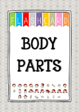 {FLASH CARDS} BODY PARTS VOCABULARY