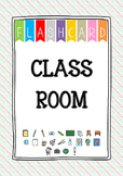 {FLASH CARDS} CLASSROOM VOCABULARY