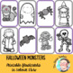 [FLASH CARDS] Halloween characters
