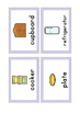 {FLASH CARDS} KITCHEN VOCABULARY