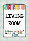 {FLASH CARDS} LIVING ROOM VOCABULARY