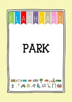 {FLASH CARDS} PARK VOCABULARY