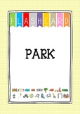 {FLASH CARDS} PARK VOCABULARY
