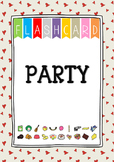 {FLASH CARDS} PARTY VOCABULARY