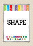 {FLASH CARDS} SHAPES VOCABULARY
