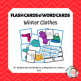 [FLASH CARDS] Winter Clothes