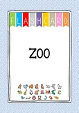 {FLASH CARDS} ZOO VOCABULARY