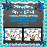 Penguins on a Boat: Language Game Companion for Speech Therapy
