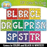 BLEND WORDS Color By Code Clipart {Zip-A-Dee-Doo-Dah Designs}