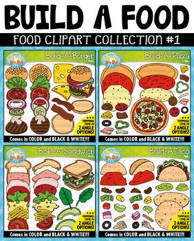 Build A Food Clipart Mega Bundle {Zip-A-Dee-Doo-Dah Designs}