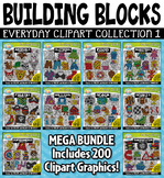 Building Blocks Clipart Mega Bundle 1 {Zip-A-Dee-Doo-Dah Designs}