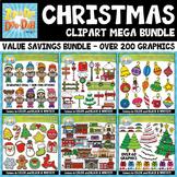 Christmas Graphics Goodie Bag Bundle {Zip-A-Dee-Doo-Dah Designs}