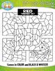 Color Objects Color By Code Clipart Mega Bundle {Zip-A-Dee-Doo-Dah Designs}