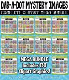 Dab-A-Dot Mystery Images Clipart Mega Bundle — 130 Graphics