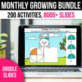 ⭐FLASH DEAL⭐ Digital Math Literacy Centers 1st Grade Games Google Slides