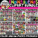 Ending Blends Clipart Bundle {Blends Clipart}