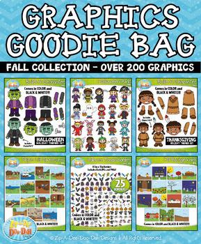 Fall Graphics Goodie Bag Bundle {Zip-A-Dee-Doo-Dah Designs}