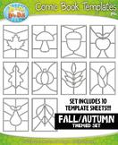 Fall Comic Book Strip Templates {Zip-A-Dee-Doo-Dah Designs}