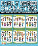 Family Members Characters Mega Bundle {Zip-A-Dee-Doo-Dah Designs}
