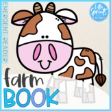 Farm Book ● Reading Activity for Little Ones ● Emergent Reader
