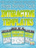 Flippable Interactive Templates Mega Bundle Part 2 {Zip-A-Dee-Doo-Dah Designs}