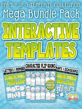 Flippable Interactive Templates Mega Bundle Part 4 — 250+ Templates